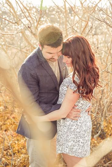 engagement engaged couples love marriage future calgary area alberta spring beautiful photo