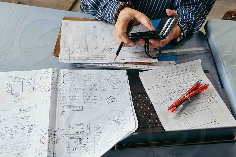 Engineer at work photo