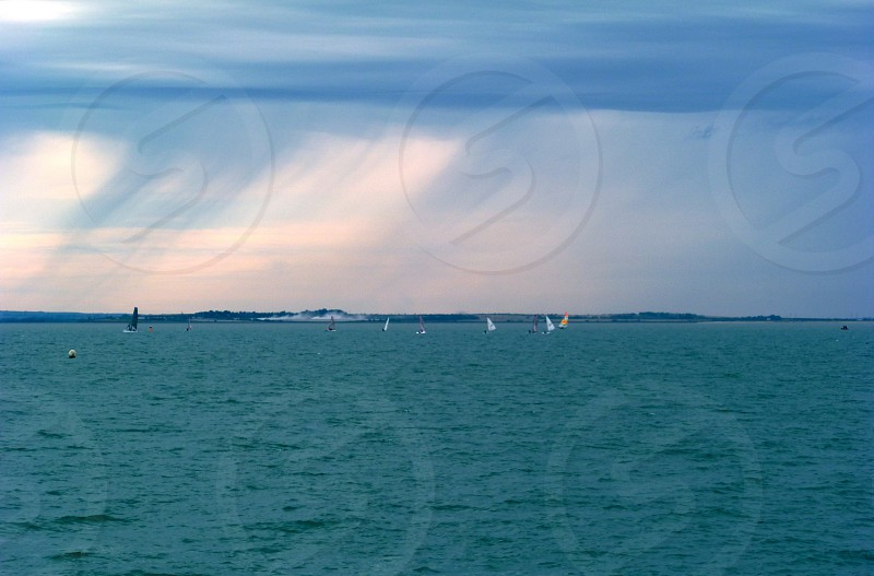 Margate - Sailing Boats Rain Arriving photo