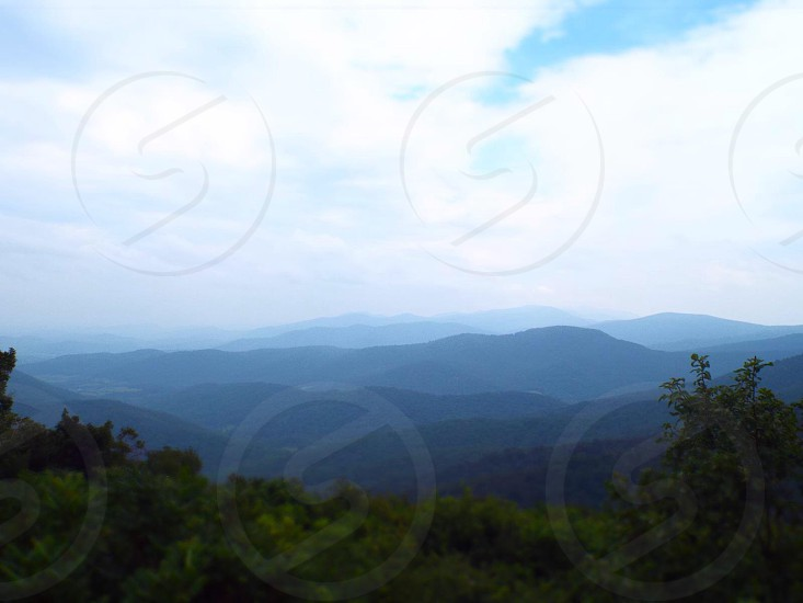 Mountains higher view landscape photo