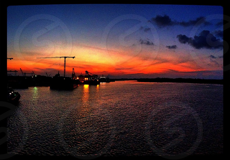 Sunrise at Batam photo