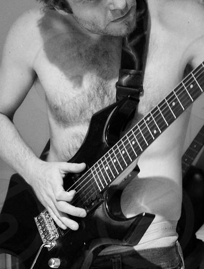 Singers songwriter singer guitarist guitar musicians singing lyrics  photo