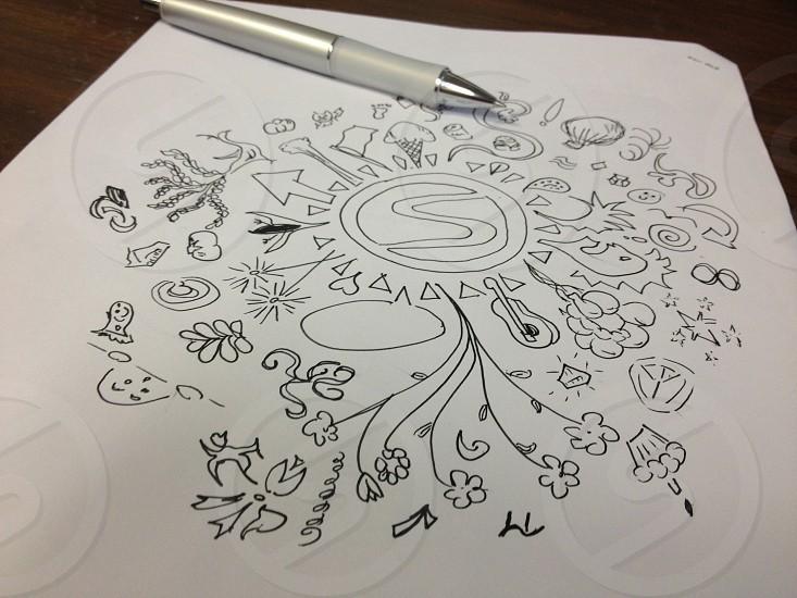 Snapwire doodle photo
