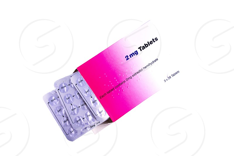 Hormonal  pils oestogen 2mg photo