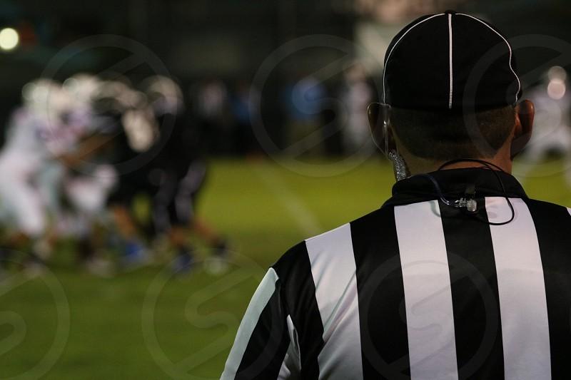 Football sports referee  photo