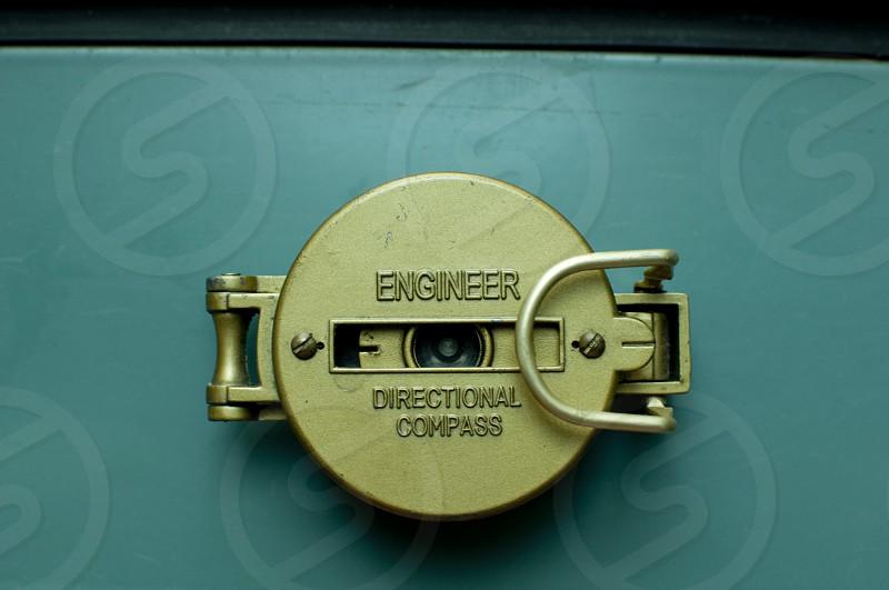 Engineer directional compass photo
