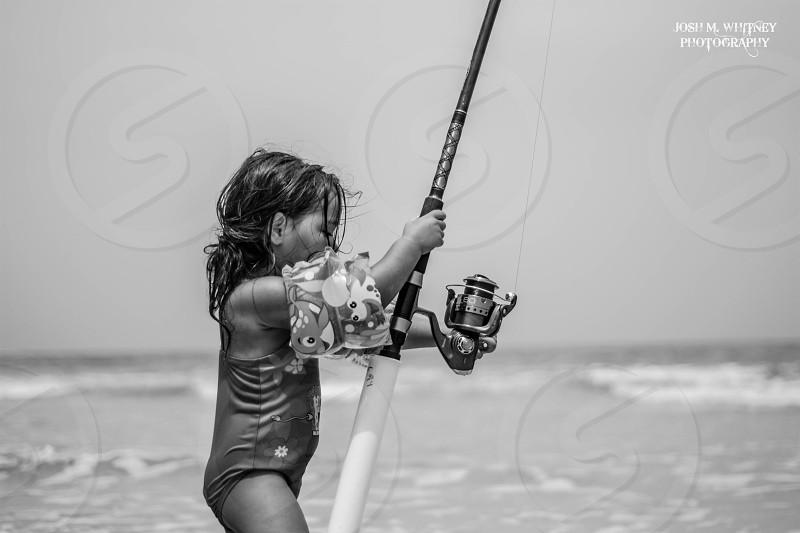 I WILL catch a fish! photo