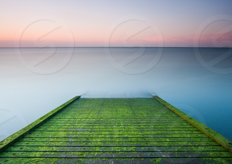 Jetty Sunset Beach jetty Kent Long Exposure Pier sea Sunset Tankerton UK Whitstable photo