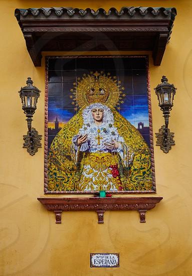 esperanza virgin in macarena seville photo