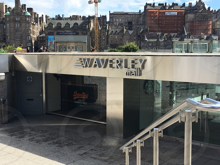 Waverley Station Edinburgh photo
