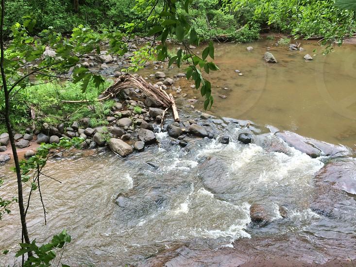 Rapids near Washburn Wisconsin photo