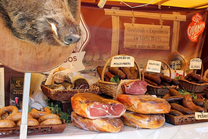Portugal Braga food holiday jamon delicious photo