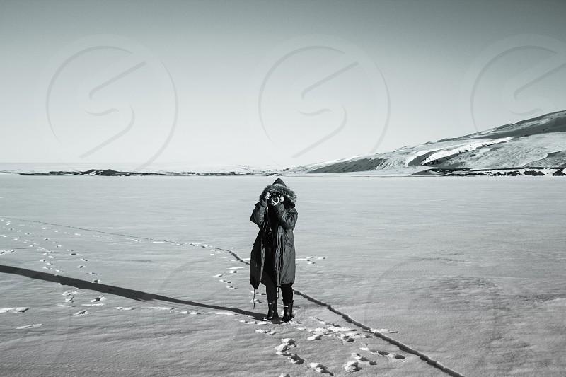Snow Iceland photographer  photo