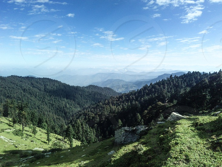 this photograph taken at churdhar which is approx. 3600 meter above see level. photo