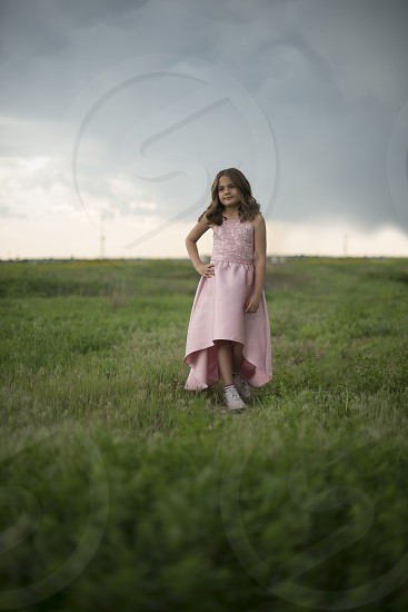 West Texas weather. My little ones photo shoot while the storm was moving in photo