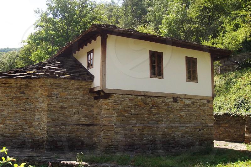 Traditional Bulgarian house photo