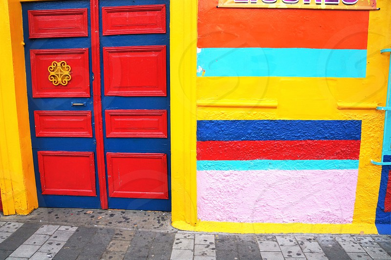 Vibrant colors.                        photo