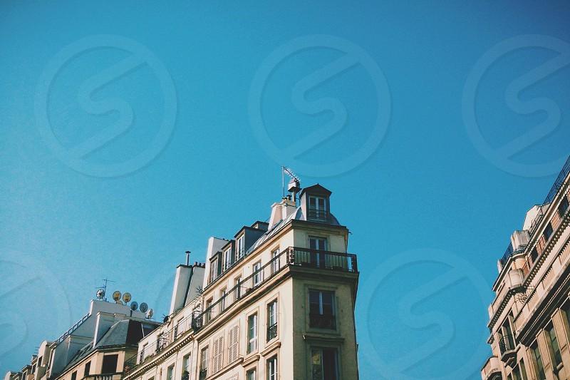 Parisian architecture. photo