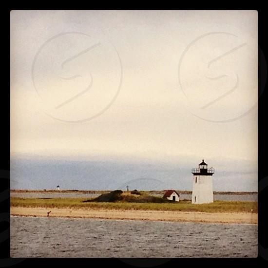 Cape lighthouse.  photo