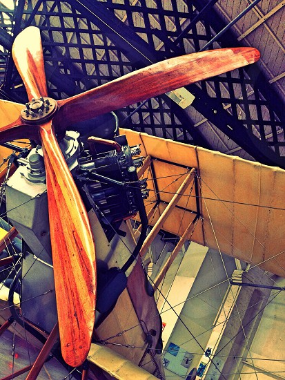 red and black propeller photo