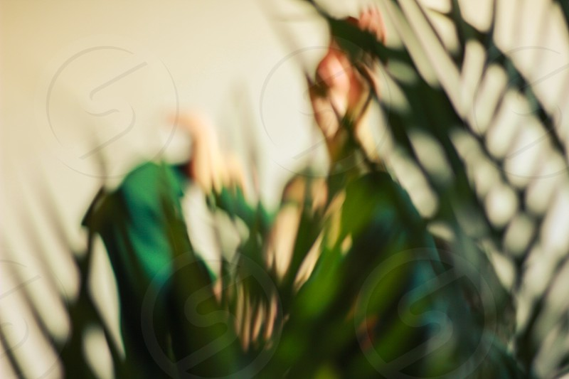 Eindhoven Netherlands. Contemporary and street dancers in nature with plants photo
