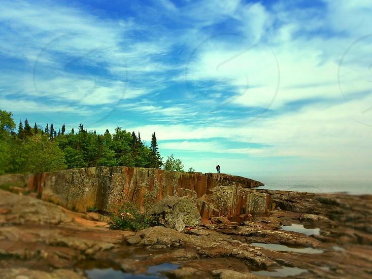 Artist Point North Shore Lake Superior Grand Marais Minnesota photo