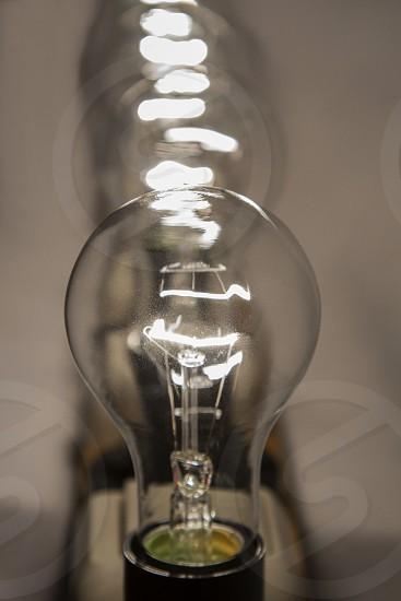 light lightbulb electricity photo