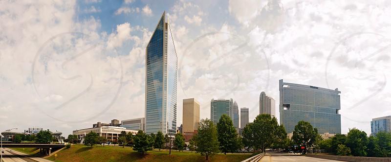 Charlotte North Carolina cityscape photo