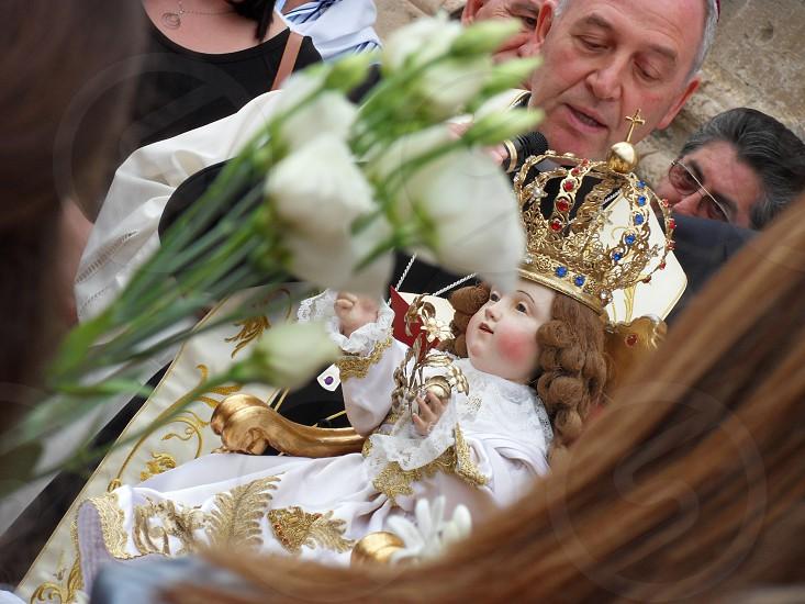 Festa del Bambin Gesu' - Baby Jesus' feast - Maratea Italy photo