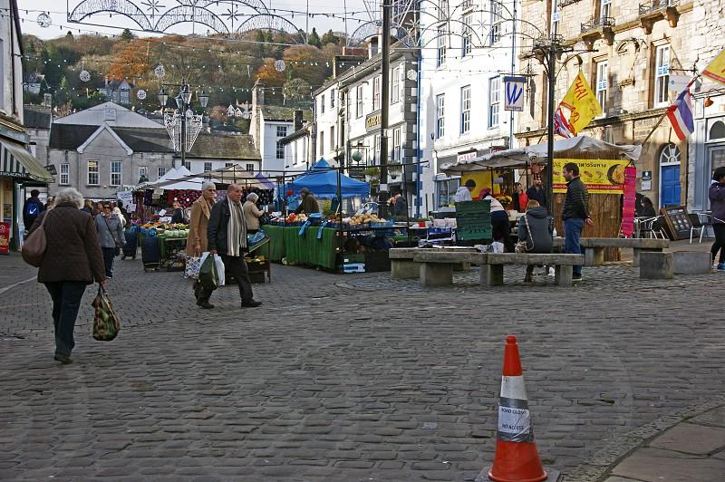 UK. ENGLAND. KENDAL Cumbria. The market place. photo