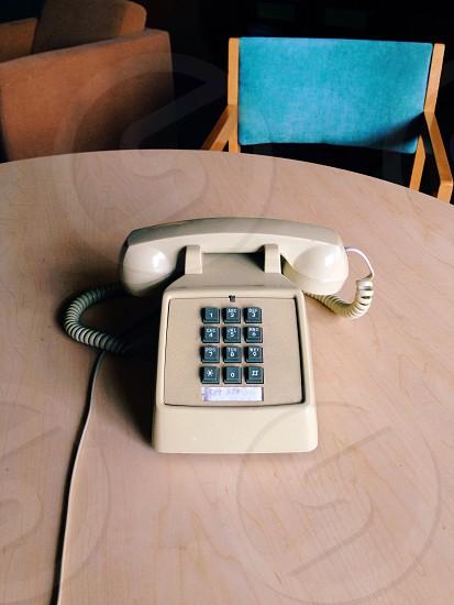 white telephone photo