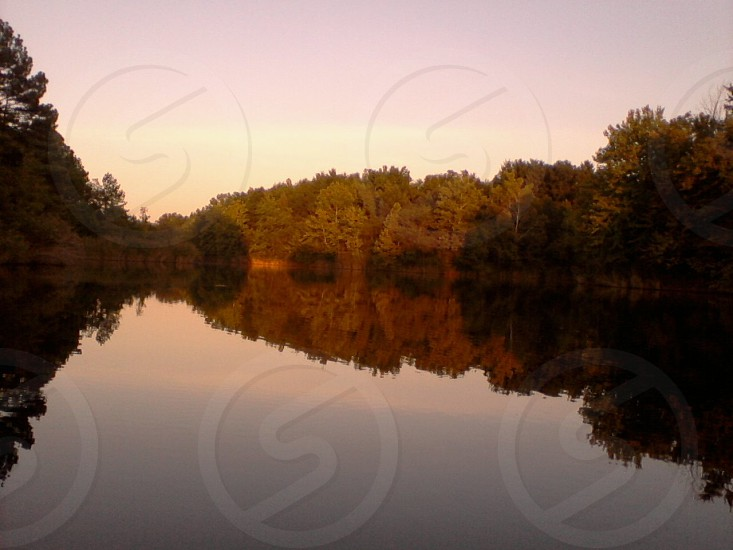 Sahara Woods Lake in Southern Illinois photo