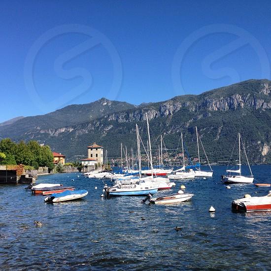 Lake como italy bellagio photo