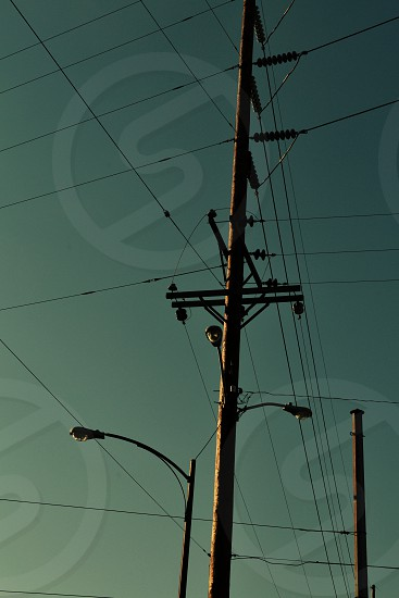 Electric Wires Pole Nashville photo