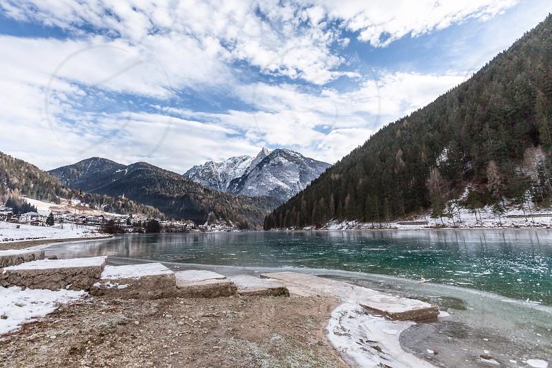 Auronzo di Cadore Dolomites Alpe. Italy. photo