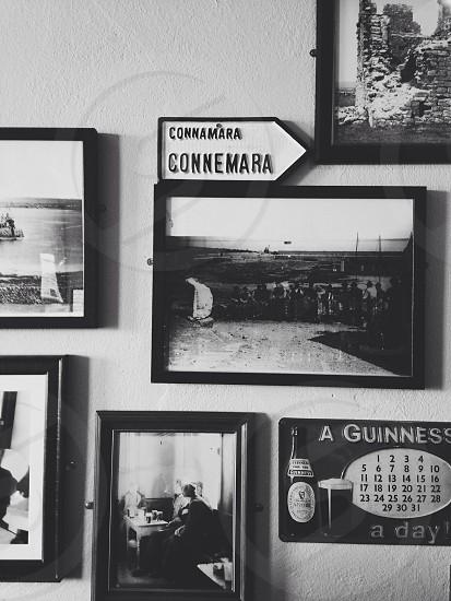 photo of photos on a wall vintage connemara photo