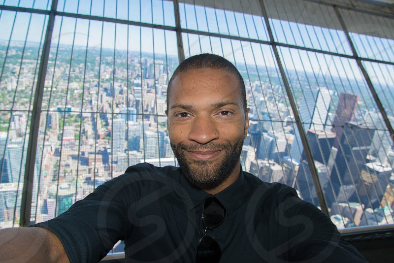 man city high Toronto cn tower photo