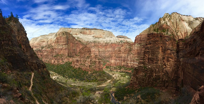 Zion Canyon National Park Observation Point photo