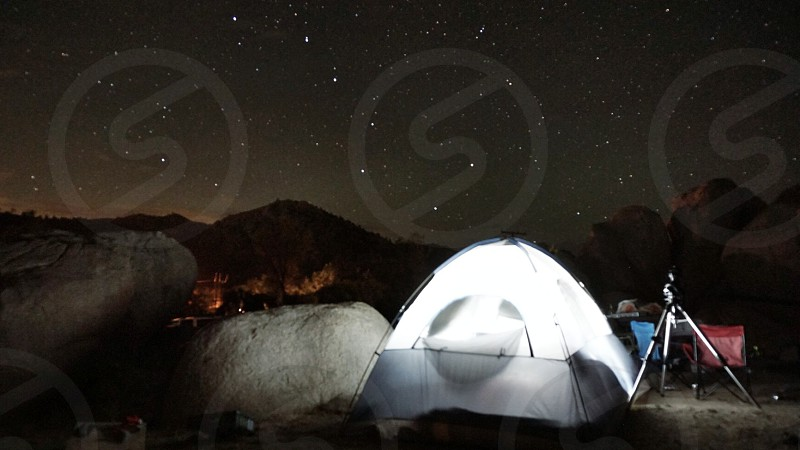 Nightscape outdoors photo