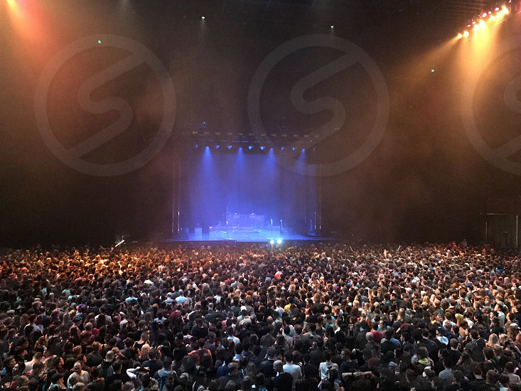 Live concert from above photo