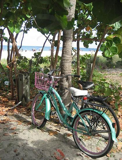 Bikes at the beach photo