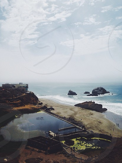 Sutro Baths Ruins photo