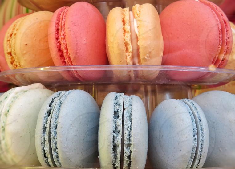 macarons selection photo