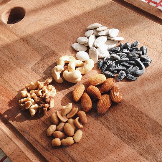 almonds  peanuts pistachio nuts photo