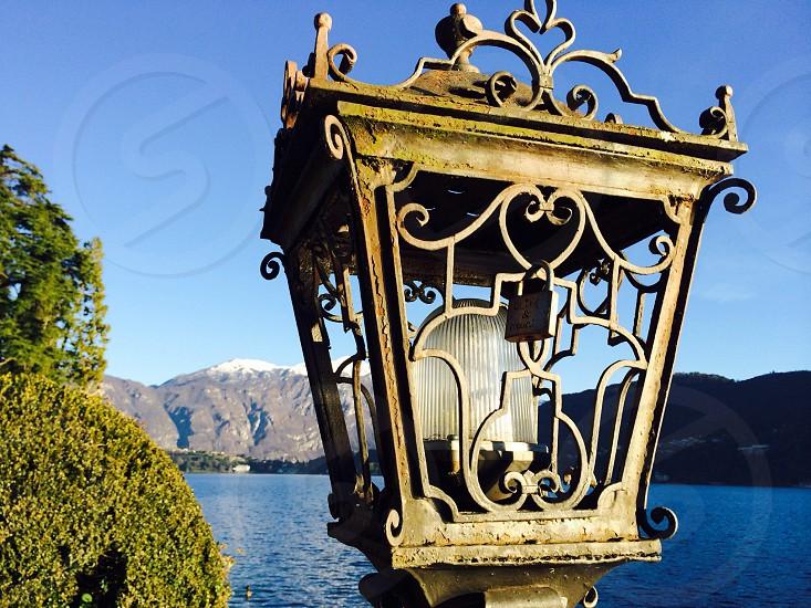 Lock of L💟Ve in Como Lake photo