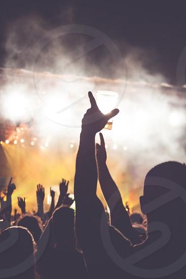concert crowds photo
