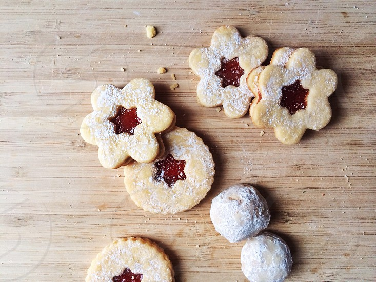 jam biscuits photo