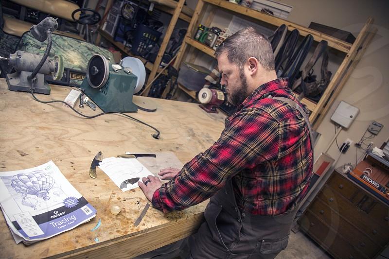 small business innovative craft design shop hand made work photo