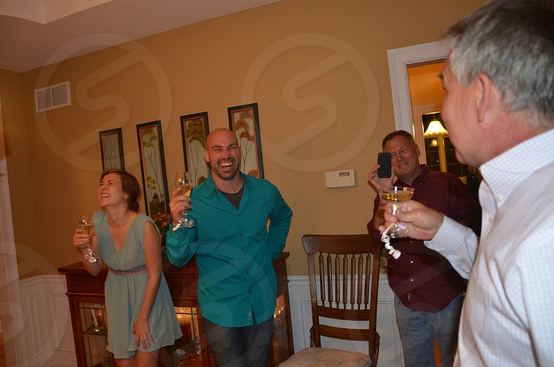 A Toast to the Newly Engaged! photo