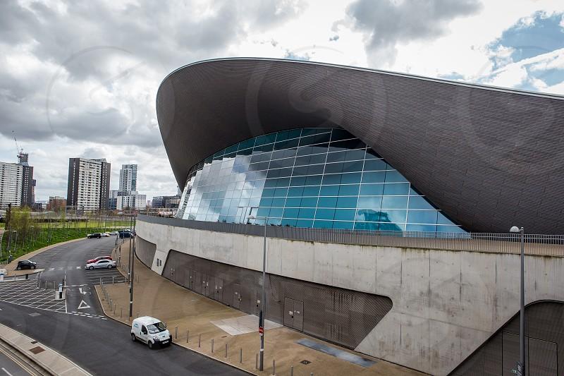 Aquatics Centre Olympic Park Stratford London photo